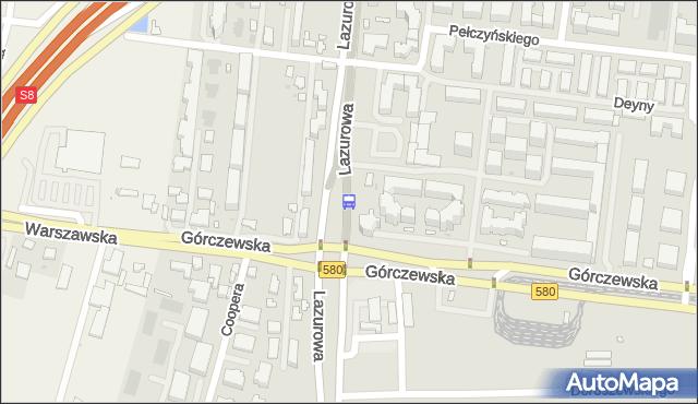 Przystanek os.Górczewska 02. ZTM Warszawa - Warszawa (id 505002) na mapie Targeo