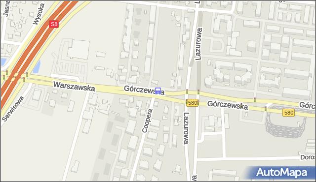 Przystanek os.Górczewska 10. ZTM Warszawa - Warszawa (id 505010) na mapie Targeo
