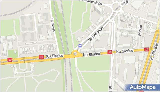 Przystanek Osiedle Akademickie 12. ZDiTM Szczecin - Szczecin (id 20812) na mapie Targeo