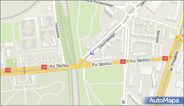 Przystanek Osiedle Akademickie 13. ZDiTM Szczecin - Szczecin (id 20813) na mapie Targeo