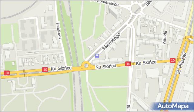Przystanek Osiedle Akademickie 14. ZDiTM Szczecin - Szczecin (id 20814) na mapie Targeo