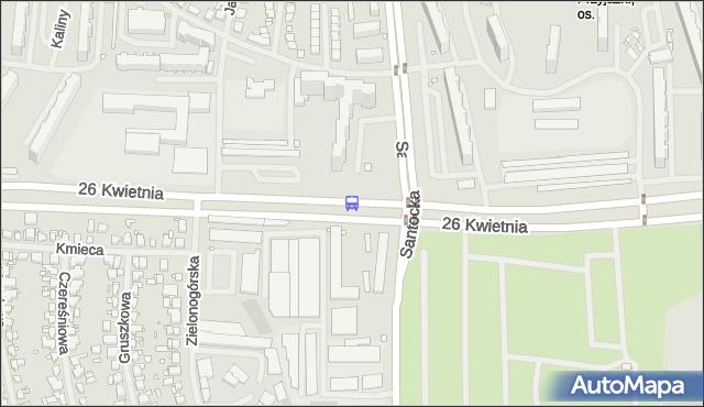 Przystanek Osiedle Przyjaźni 22. ZDiTM Szczecin - Szczecin (id 35022) na mapie Targeo
