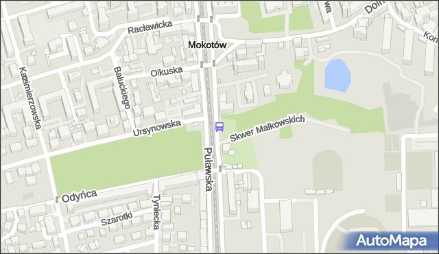 Przystanek Park Dreszera 02. ZTM Warszawa - Warszawa (id 300502) na mapie Targeo
