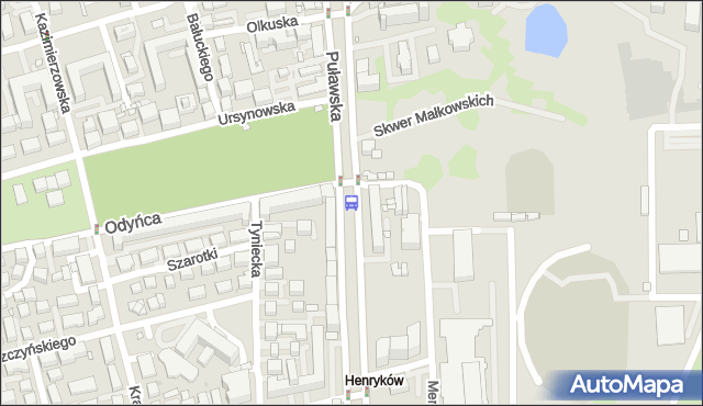 Przystanek Park Dreszera 06. ZTM Warszawa - Warszawa (id 300506) na mapie Targeo