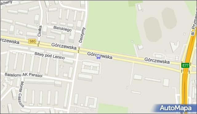 Przystanek Park Moczydło 01. ZTM Warszawa - Warszawa (id 502001) na mapie Targeo