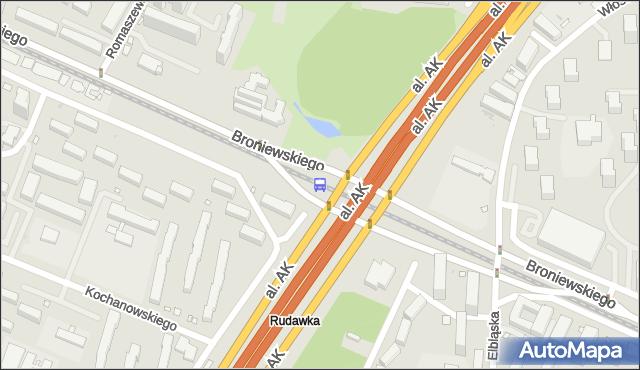 Przystanek Park Olszyna 03. ZTM Warszawa - Warszawa (id 604203) na mapie Targeo