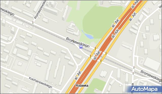 Przystanek Park Olszyna 04. ZTM Warszawa - Warszawa (id 604204) na mapie Targeo