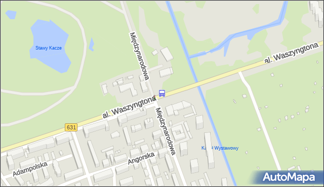 Przystanek Park Skaryszewski 03. ZTM Warszawa - Warszawa (id 213203) na mapie Targeo