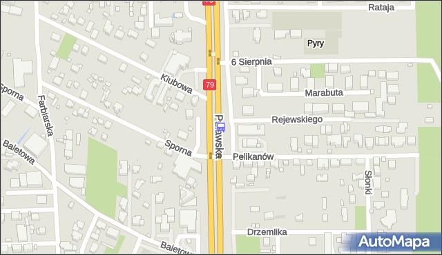 Przystanek Pelikanów 02. ZTM Warszawa - Warszawa (id 301902) na mapie Targeo