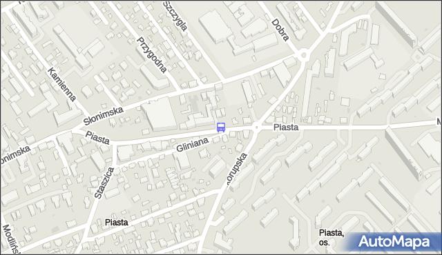 Przystanek Piasta/Skorupska. BKM - Białystok (id 253) na mapie Targeo