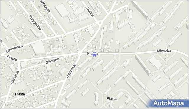 Przystanek Piasta. BKM - Białystok (id 257) na mapie Targeo