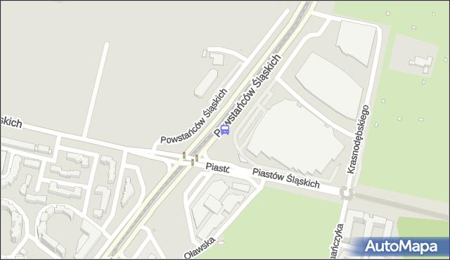 Przystanek Piastów Śląskich 01. ZTM Warszawa - Warszawa (id 506201) na mapie Targeo