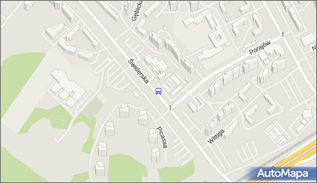 Przystanek Picassa 02. ZTM Warszawa - Warszawa (id 125102) na mapie Targeo