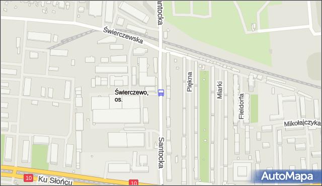 Przystanek Piękna 12. ZDiTM Szczecin - Szczecin (id 26212) na mapie Targeo