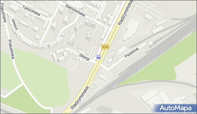 Przystanek Piotra Skargi 01. ZTM Warszawa - Warszawa (id 105401) na mapie Targeo