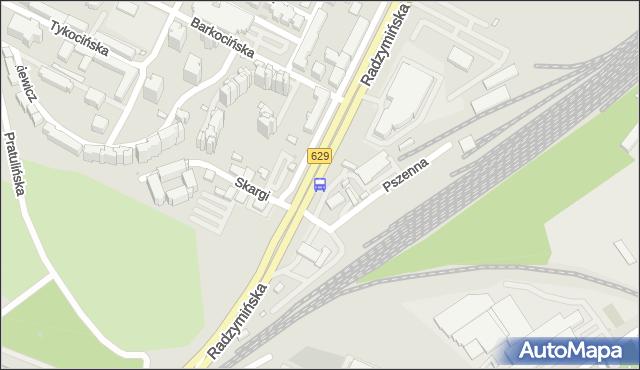 Przystanek Piotra Skargi 02. ZTM Warszawa - Warszawa (id 105402) na mapie Targeo