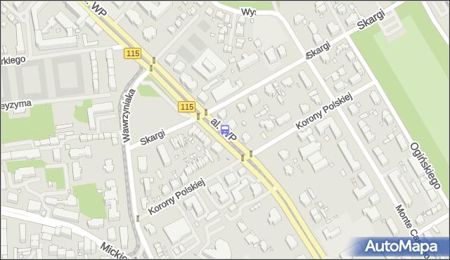 Przystanek Piotra Skargi 21. ZDiTM Szczecin - Szczecin (id 12221) na mapie Targeo