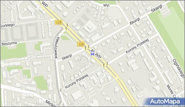 Przystanek Piotra Skargi 22. ZDiTM Szczecin - Szczecin (id 12222) na mapie Targeo