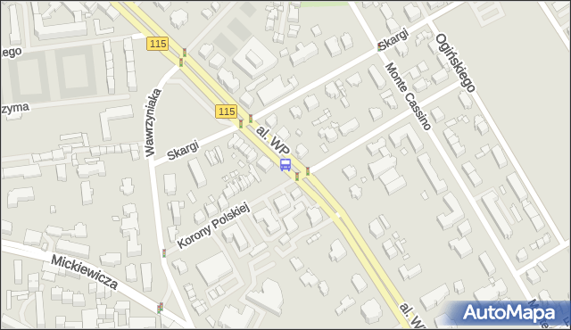 Przystanek Piotra Skargi 23. ZDiTM Szczecin - Szczecin (id 12223) na mapie Targeo