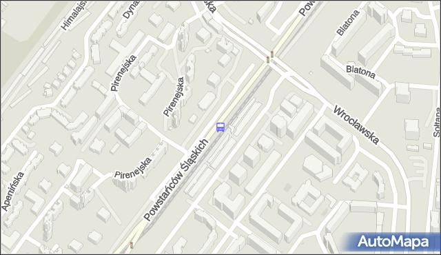 Przystanek Pirenejska 01. ZTM Warszawa - Warszawa (id 516001) na mapie Targeo