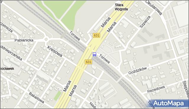 Przystanek PKP Gocławek 02. ZTM Warszawa - Warszawa (id 205802) na mapie Targeo
