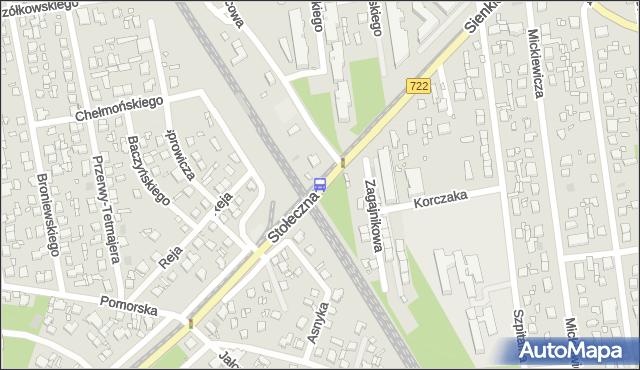 Przystanek PKP Piaseczno 01. ZTM Warszawa - Warszawa (id 316901) na mapie Targeo