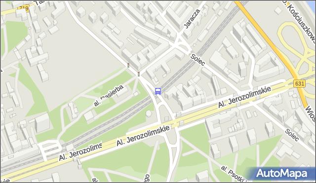 Przystanek PKP Powiśle 04. ZTM Warszawa - Warszawa (id 706804) na mapie Targeo