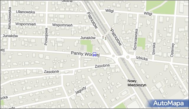 Przystanek PKP Radość 03. ZTM Warszawa - Warszawa (id 204303) na mapie Targeo