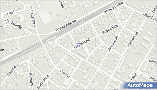 Przystanek PKP Ursus 06. ZTM Warszawa - Warszawa (id 421706) na mapie Targeo