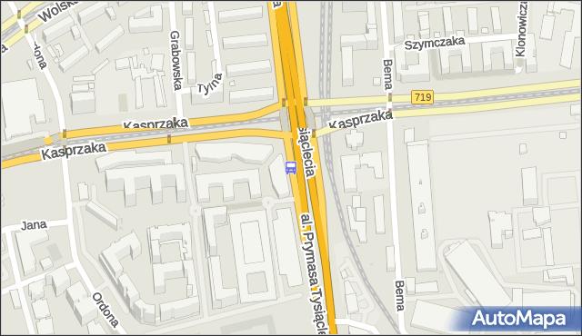Przystanek PKP Wola (Kasprzaka) 05. ZTM Warszawa - Warszawa (id 504305) na mapie Targeo