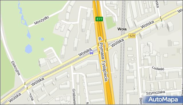 Przystanek PKP Wola (Wolska) 03. ZTM Warszawa - Warszawa (id 500703) na mapie Targeo