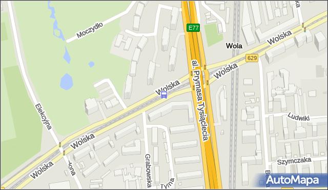 Przystanek PKP Wola (Wolska) 04. ZTM Warszawa - Warszawa (id 500704) na mapie Targeo