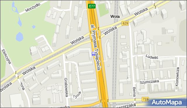 Przystanek PKP Wola (Wolska) 05. ZTM Warszawa - Warszawa (id 500705) na mapie Targeo