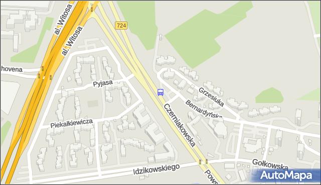 Przystanek Pl.Bernardyński 02. ZTM Warszawa - Warszawa (id 306102) na mapie Targeo