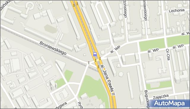 Przystanek pl.Grunwaldzki 03. ZTM Warszawa - Warszawa (id 603903) na mapie Targeo