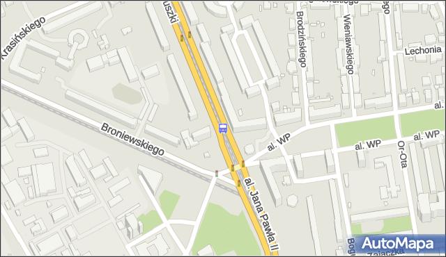 Przystanek pl.Grunwaldzki 04. ZTM Warszawa - Warszawa (id 603904) na mapie Targeo