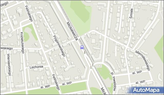 Przystanek pl.Inwalidów 02. ZTM Warszawa - Warszawa (id 600202) na mapie Targeo