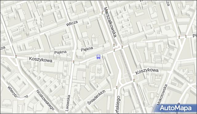 Przystanek pl.Konstytucji 03. ZTM Warszawa - Warszawa (id 701103) na mapie Targeo