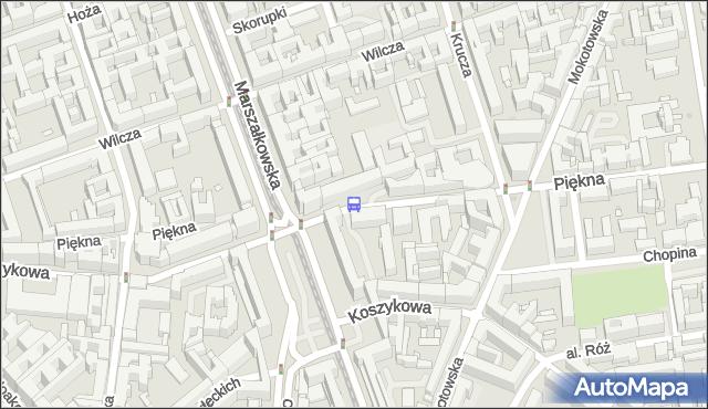 Przystanek pl.Konstytucji 04. ZTM Warszawa - Warszawa (id 701104) na mapie Targeo