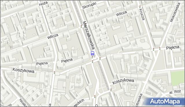 Przystanek pl.Konstytucji 05. ZTM Warszawa - Warszawa (id 701105) na mapie Targeo