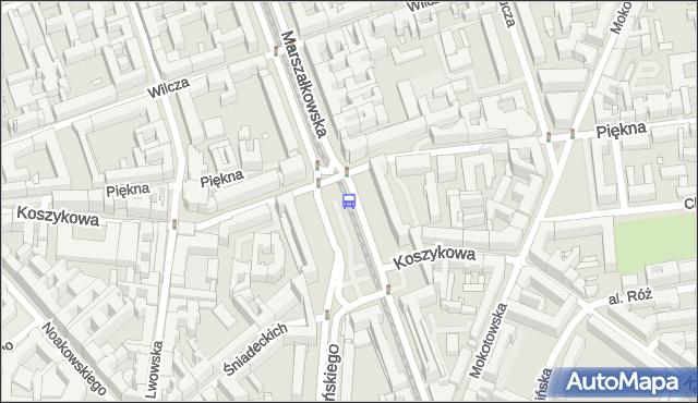 Przystanek pl.Konstytucji 06. ZTM Warszawa - Warszawa (id 701106) na mapie Targeo