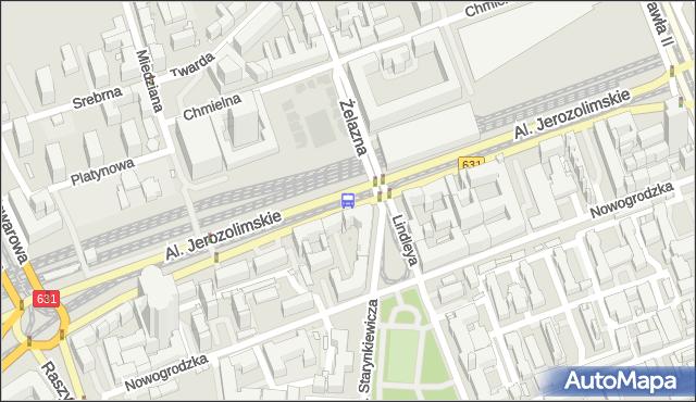 Przystanek pl.Starynkiewicza 03. ZTM Warszawa - Warszawa (id 405203) na mapie Targeo