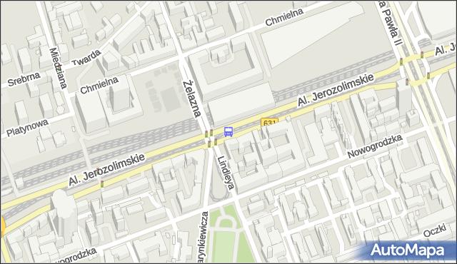 Przystanek pl.Starynkiewicza 04. ZTM Warszawa - Warszawa (id 405204) na mapie Targeo