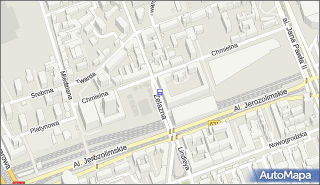 Przystanek pl.Starynkiewicza 06. ZTM Warszawa - Warszawa (id 405206) na mapie Targeo