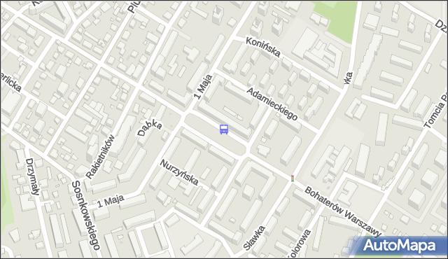 Przystanek pl.Tysiąclecia 02. ZTM Warszawa - Warszawa (id 409602) na mapie Targeo