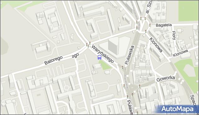 Przystanek pl.Unii Lubelskiej 01. ZTM Warszawa - Warszawa (id 300101) na mapie Targeo