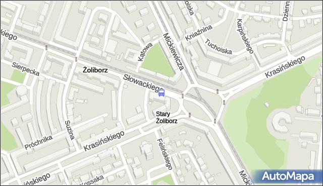Przystanek pl.Wilsona 01. ZTM Warszawa - Warszawa (id 600301) na mapie Targeo