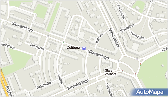 Przystanek pl.Wilsona 02. ZTM Warszawa - Warszawa (id 600302) na mapie Targeo