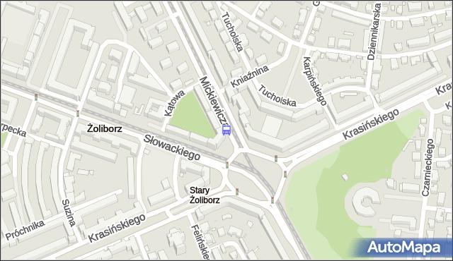 Przystanek pl.Wilsona 03. ZTM Warszawa - Warszawa (id 600303) na mapie Targeo