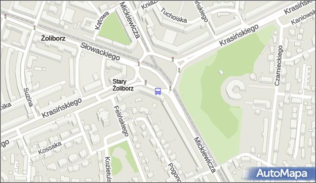 Przystanek pl.Wilsona 07. ZTM Warszawa - Warszawa (id 600307) na mapie Targeo